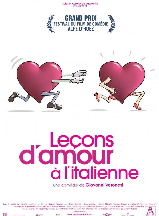Comédie  Leçons d'amour à l'italienne