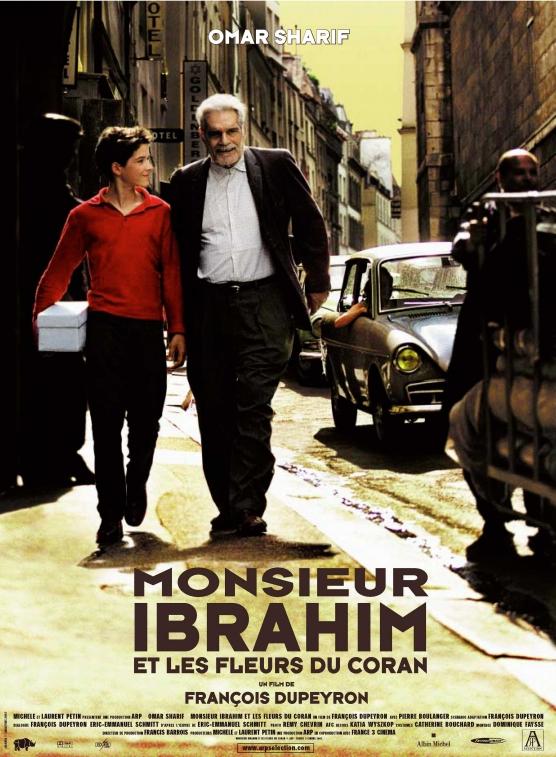 Comédie dramatique Monsieur Ibrahim et les fleurs du Coran