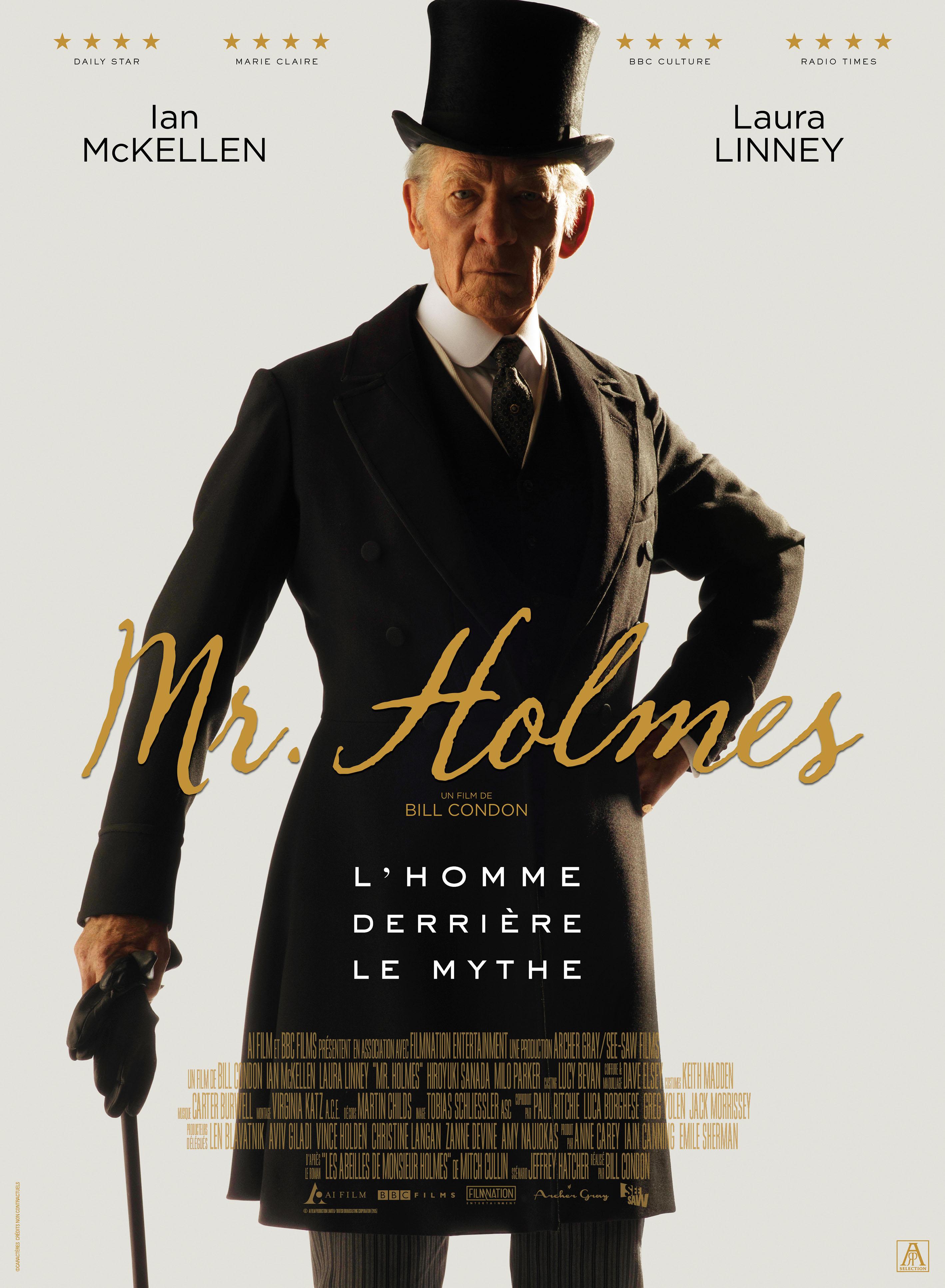 Comédie dramatique  Mr. Holmes