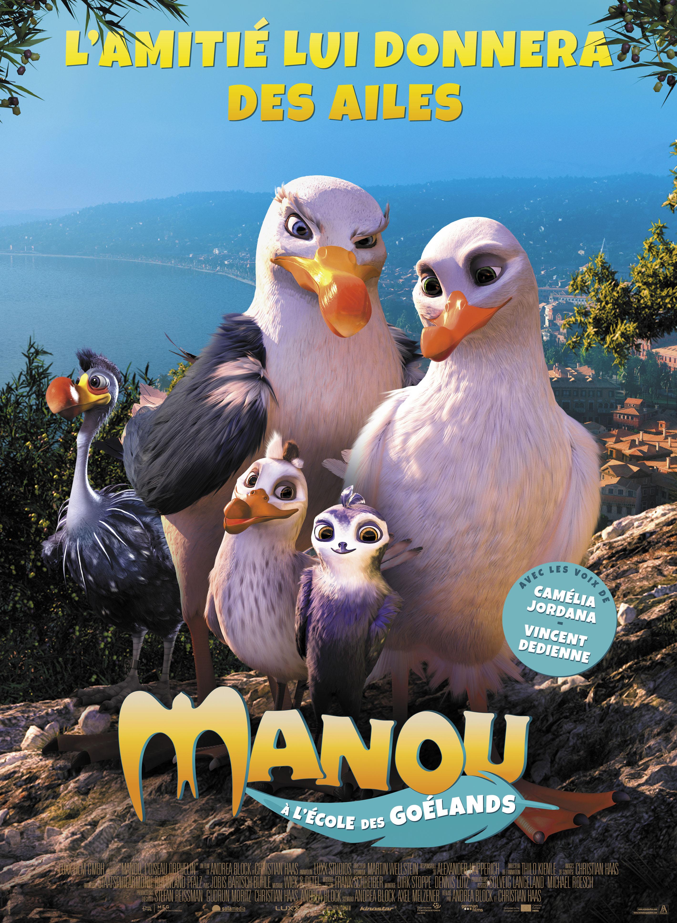 Animation  Manou à l'école des goélands